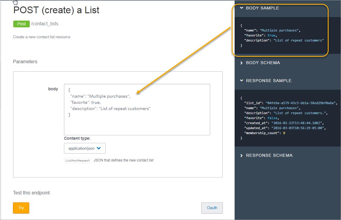 Using the Developer Portal | Constant Contact Developer Portal